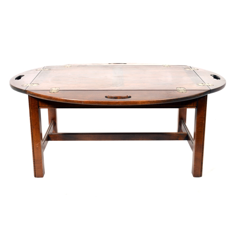 Chippendale Style Butler Coffee Table