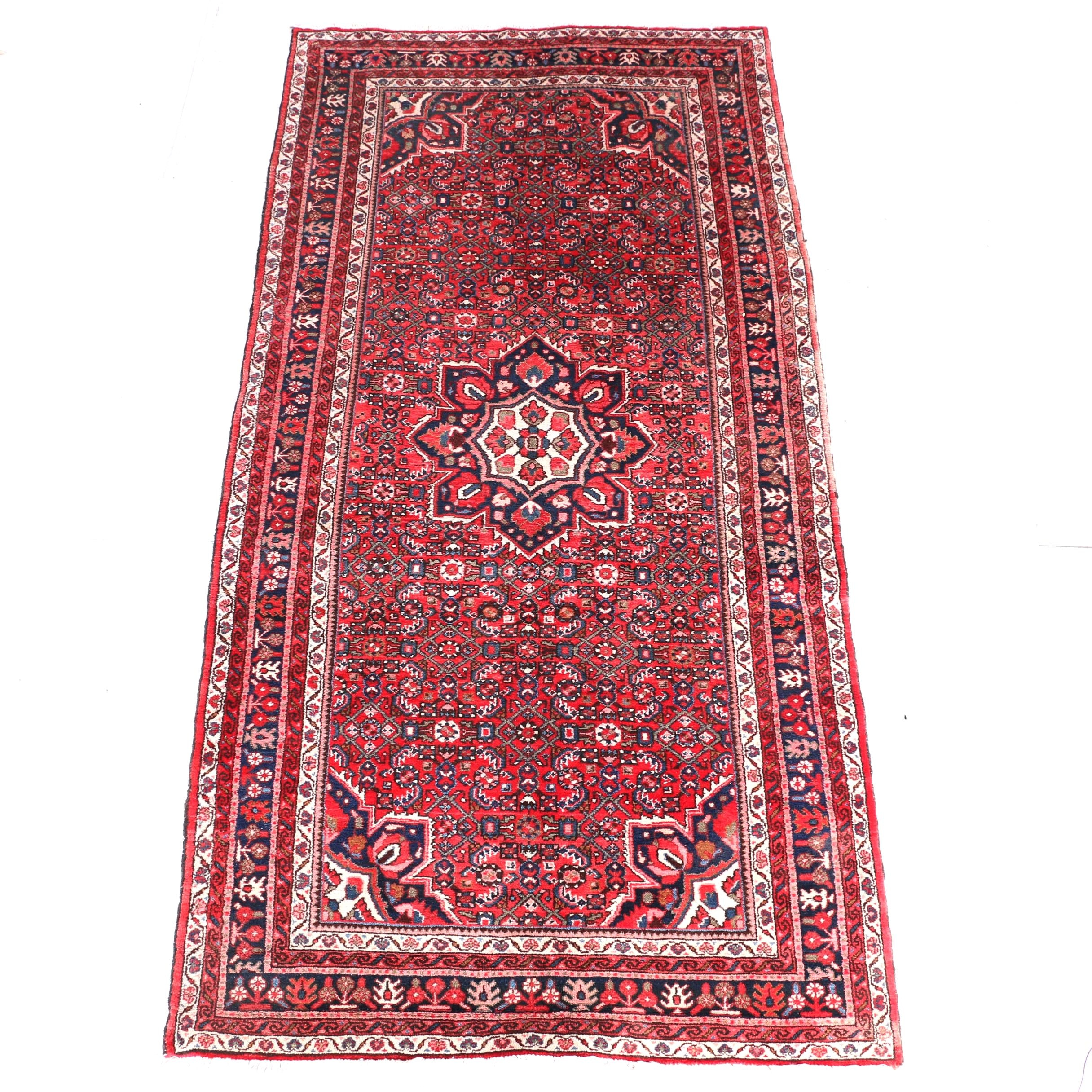 Hand-Knotted Persian Ahar Style Runner
