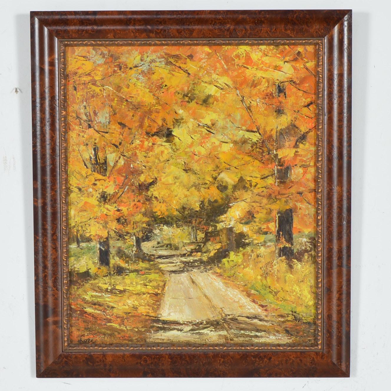 Framed Original Acrylic on Board