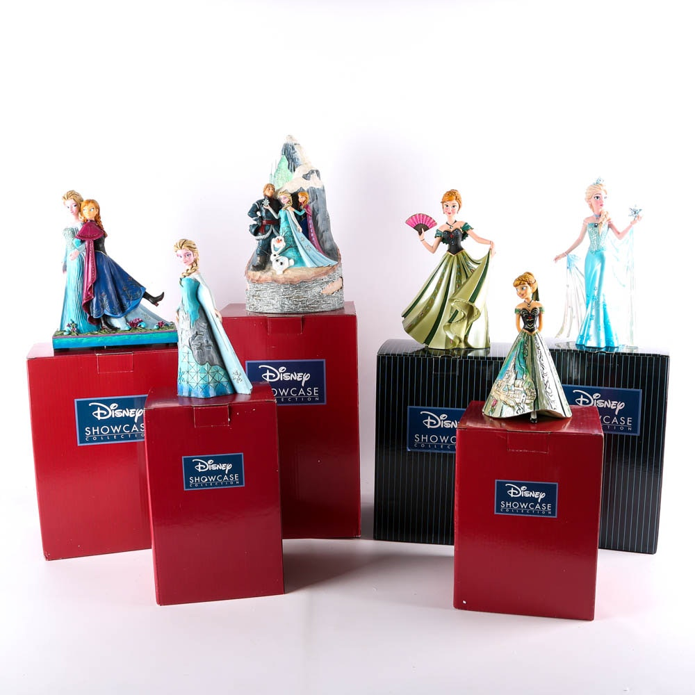 """Collection of Figurines from Disney's """"Frozen"""""""