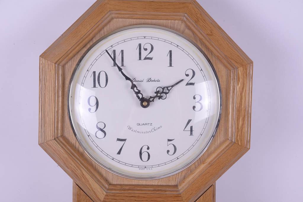 Daniel Dakota Wall Clock Ebth