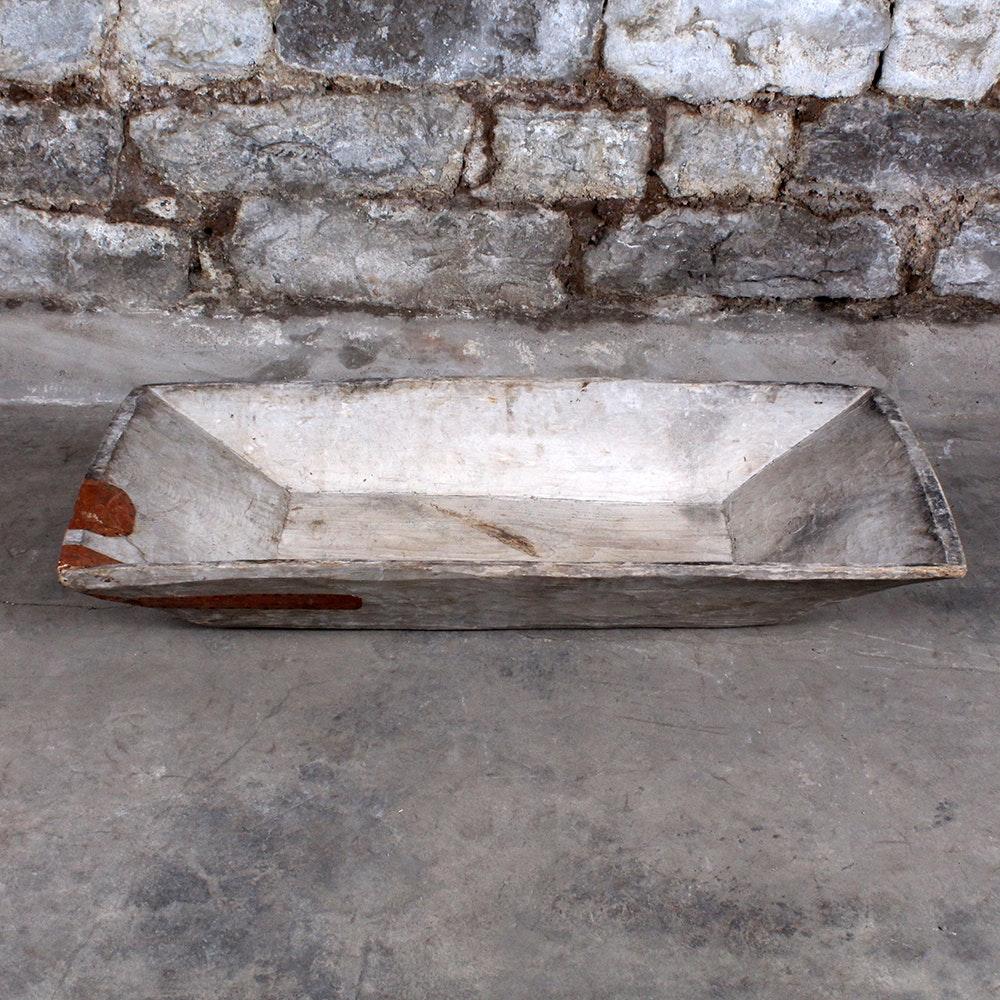 Antique Primitive Dough Bowl