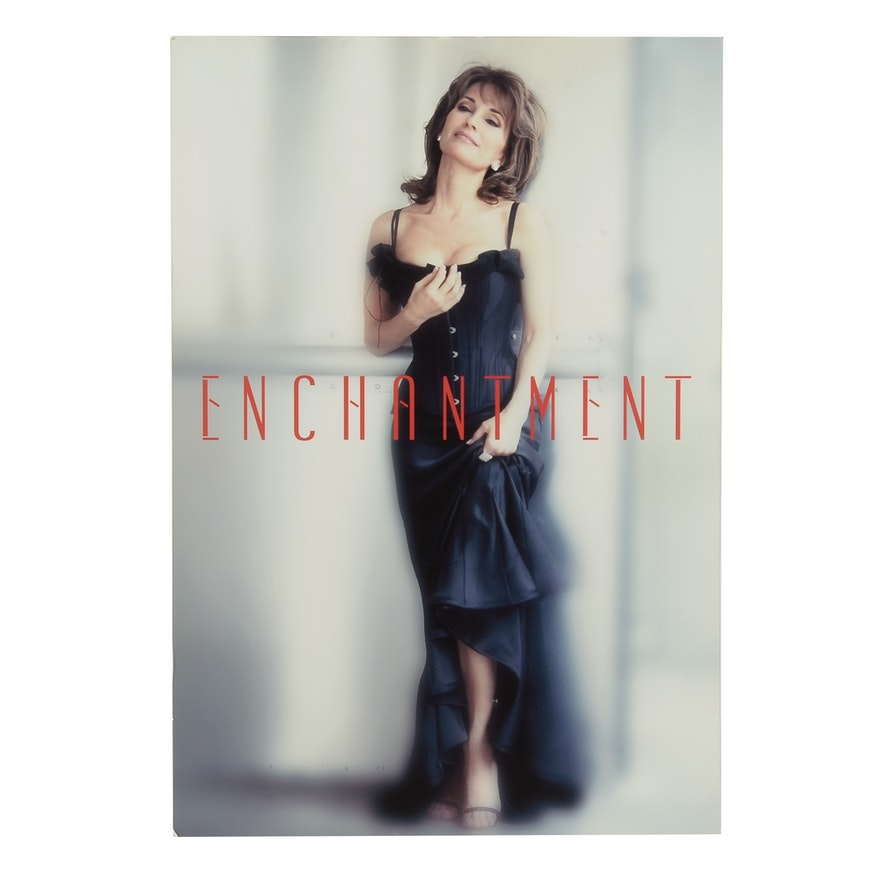 """Susan Lucci for """"Enchantment"""" Perfume Promotional Giclee Poster"""