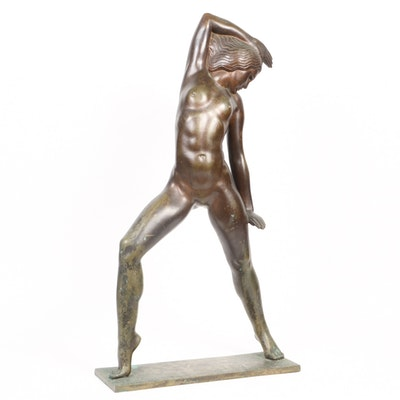 "Nagy Bronze Sculpture ""Young Dancer"""