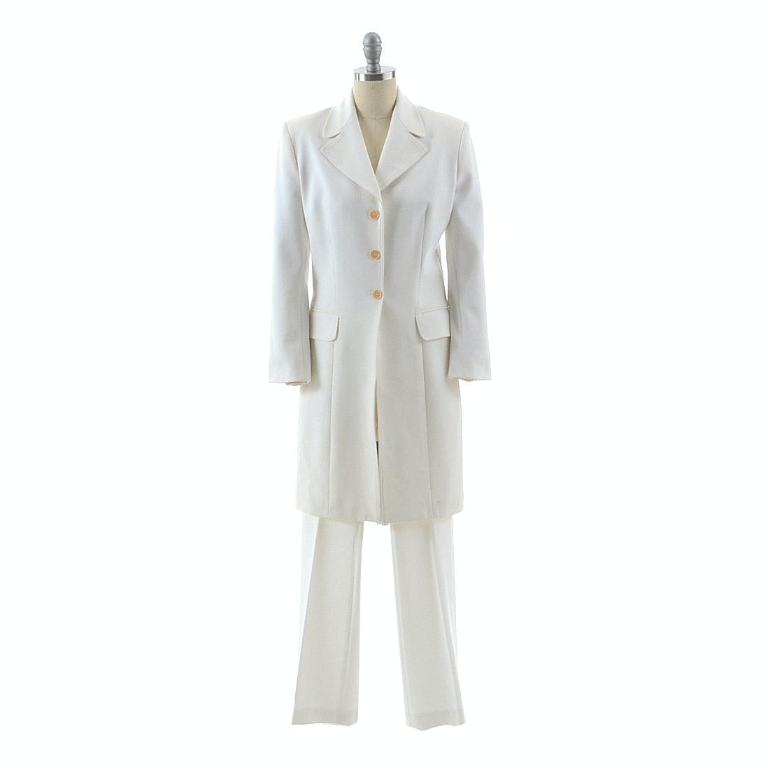 Vertigo of Paris Long Blazer Walker Coat and Trousers Set