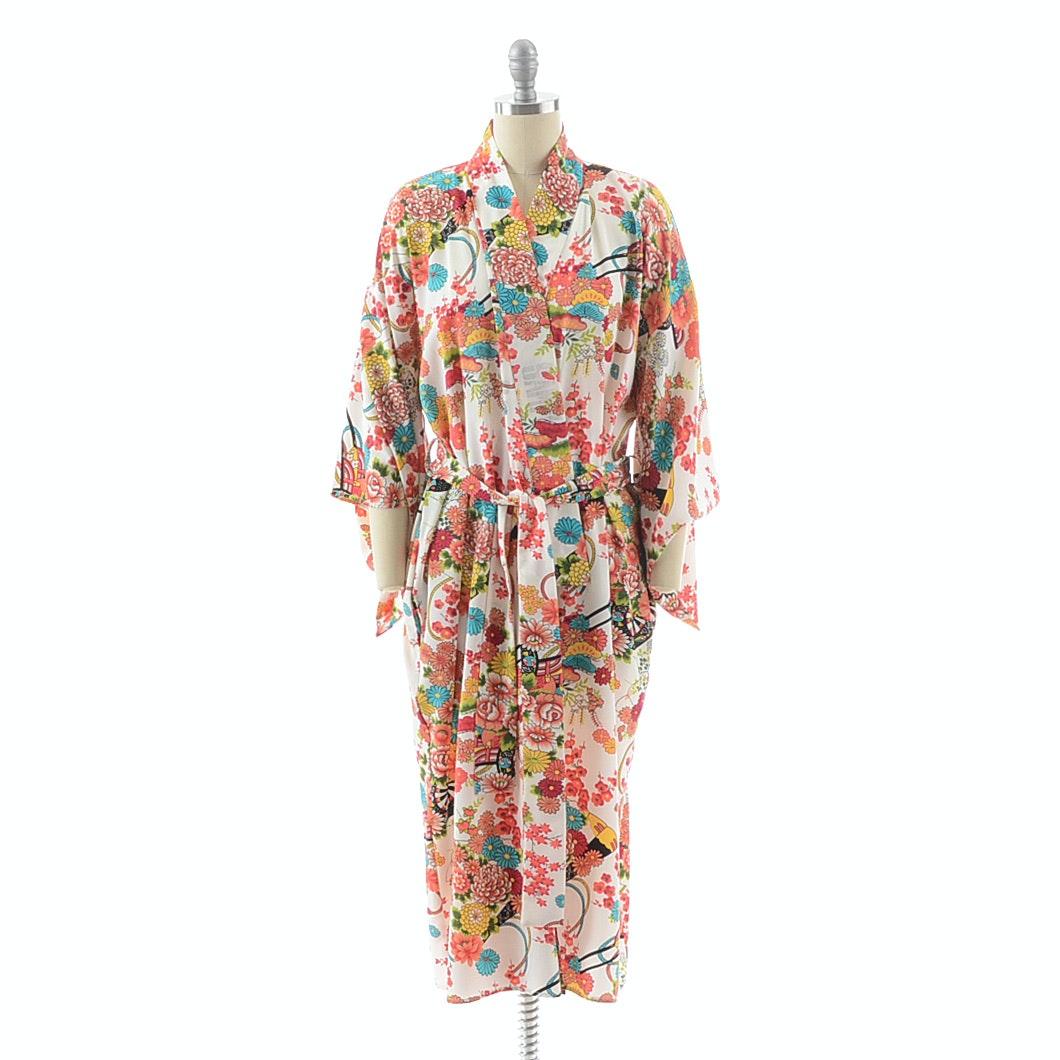 Susan Lucci Brand Kimono Style Robe
