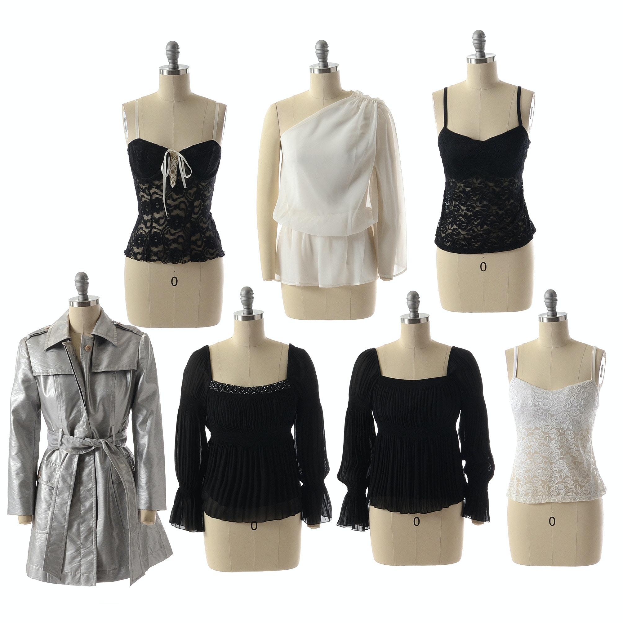 Assortment of Susan Lucci Brand Tops