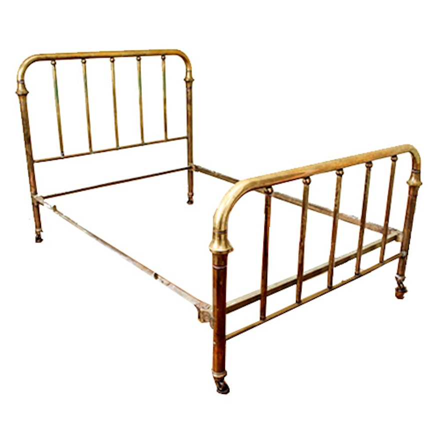 Double Brass Bed Frame : EBTH