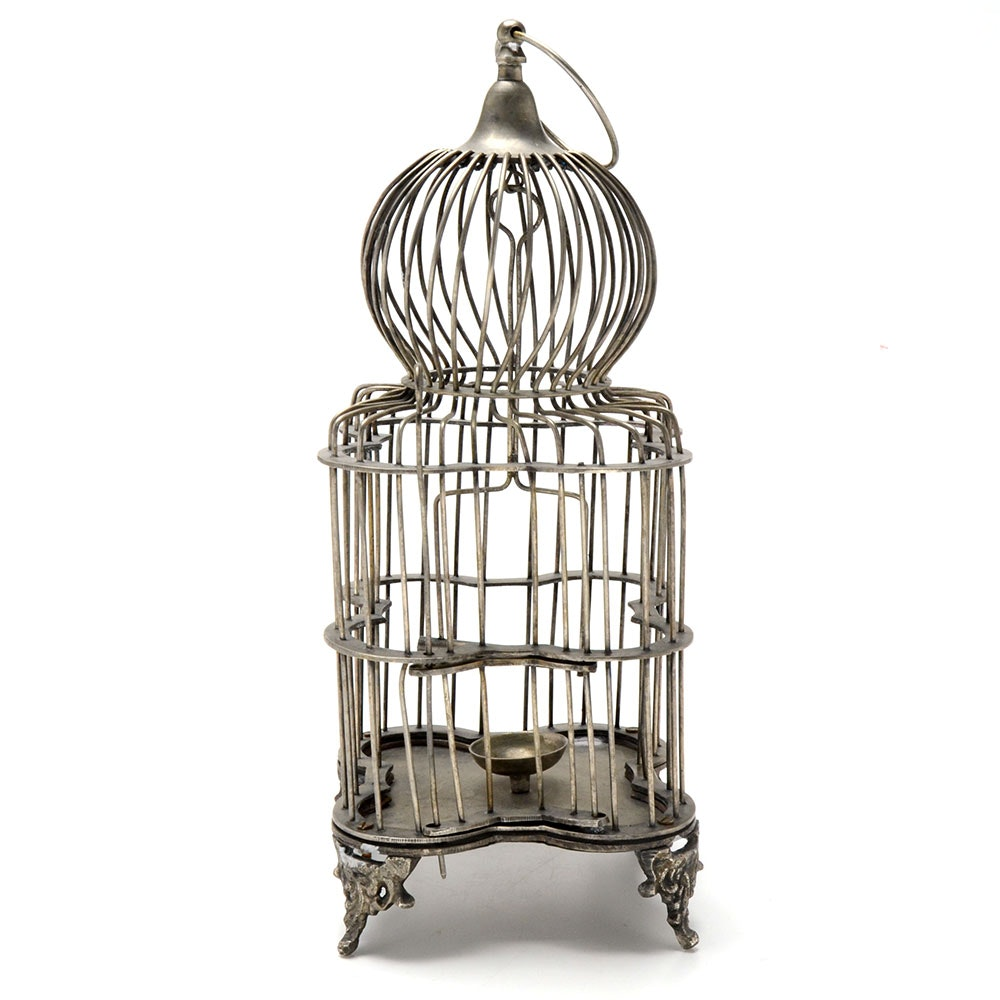 Metal Table Top Bird Cage