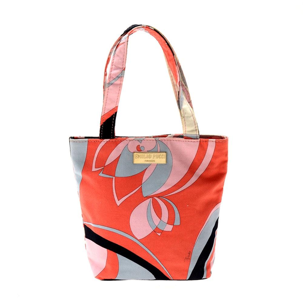 Emilio Pucci Mini Tote Handbag