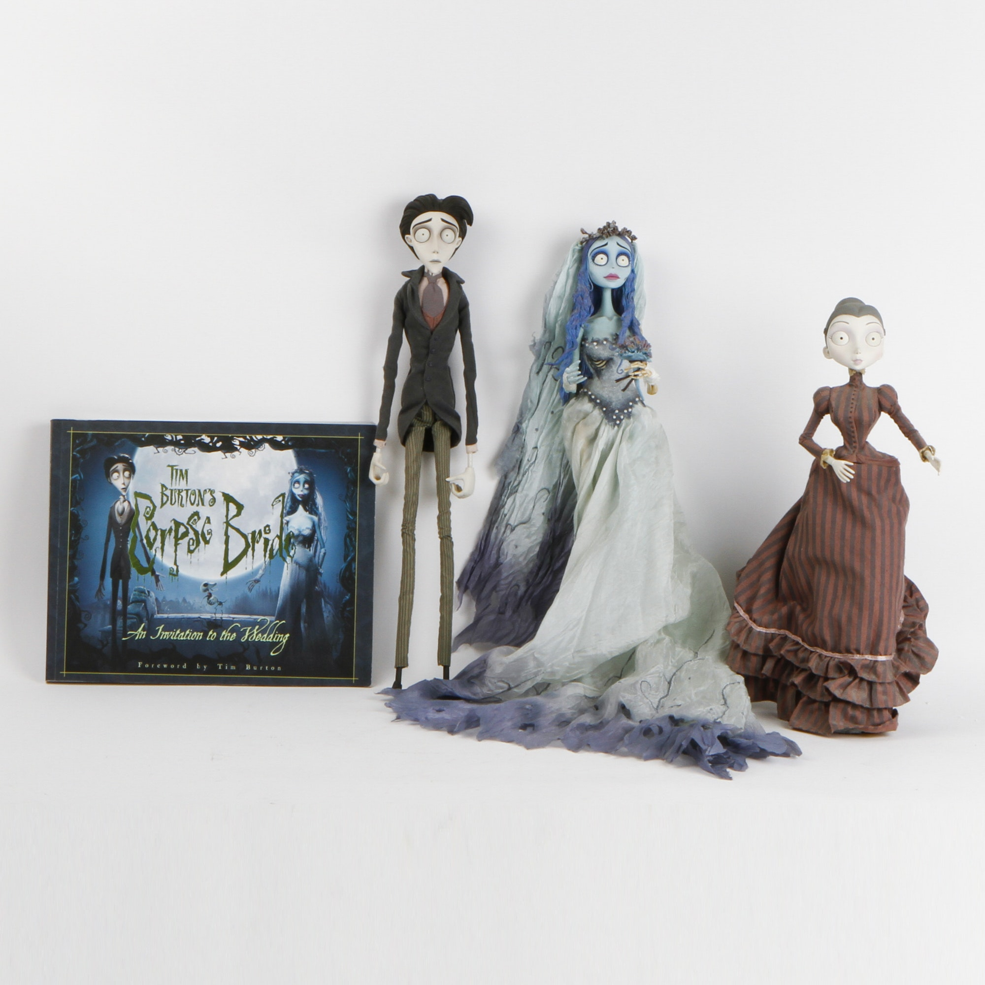"A Collection of Tim Burton's ""Corpse Bride"" items"