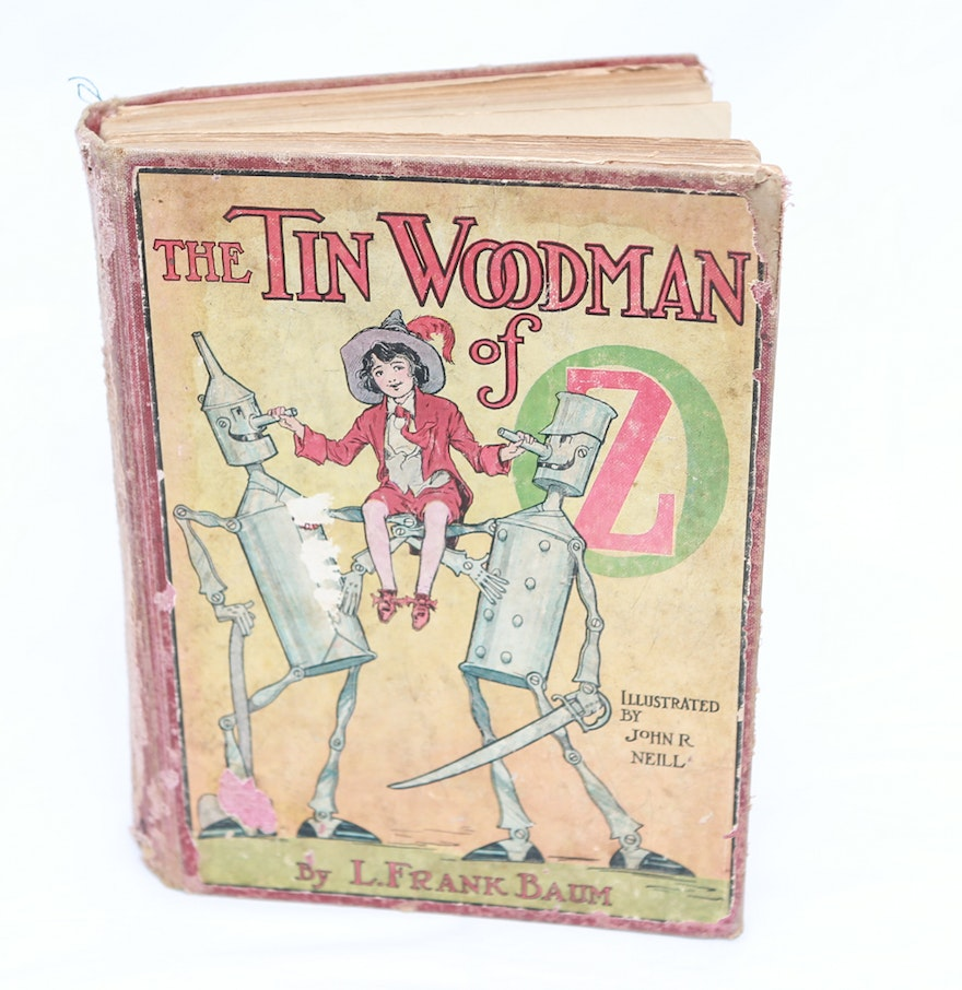 first edition the tin woodman of oz ebth 1918 first edition the tin woodman of