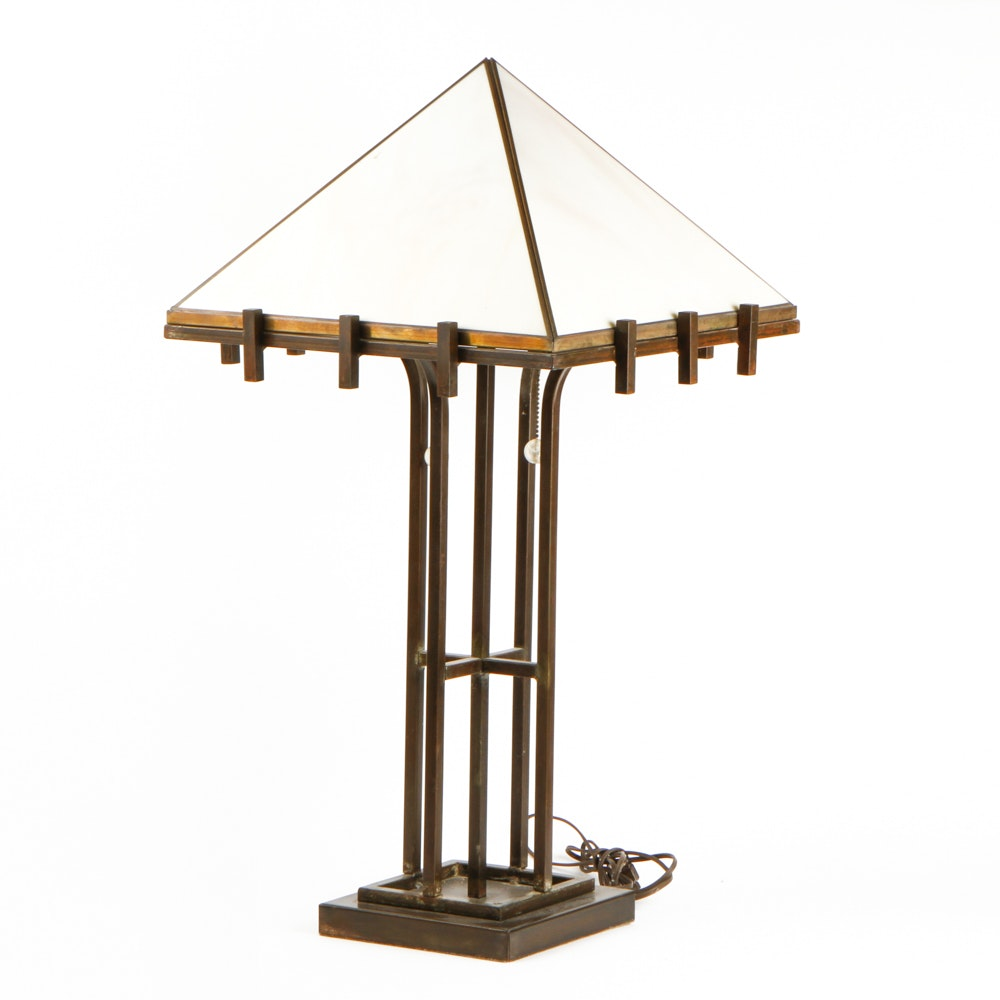 Mission Style Table Lamp