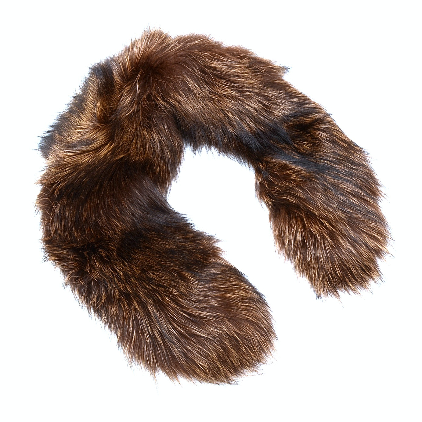 Adrienne Landau Dyed Fox Fur Collar