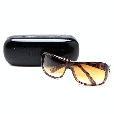 Pair of Gucci Sunglasses with Signature Case