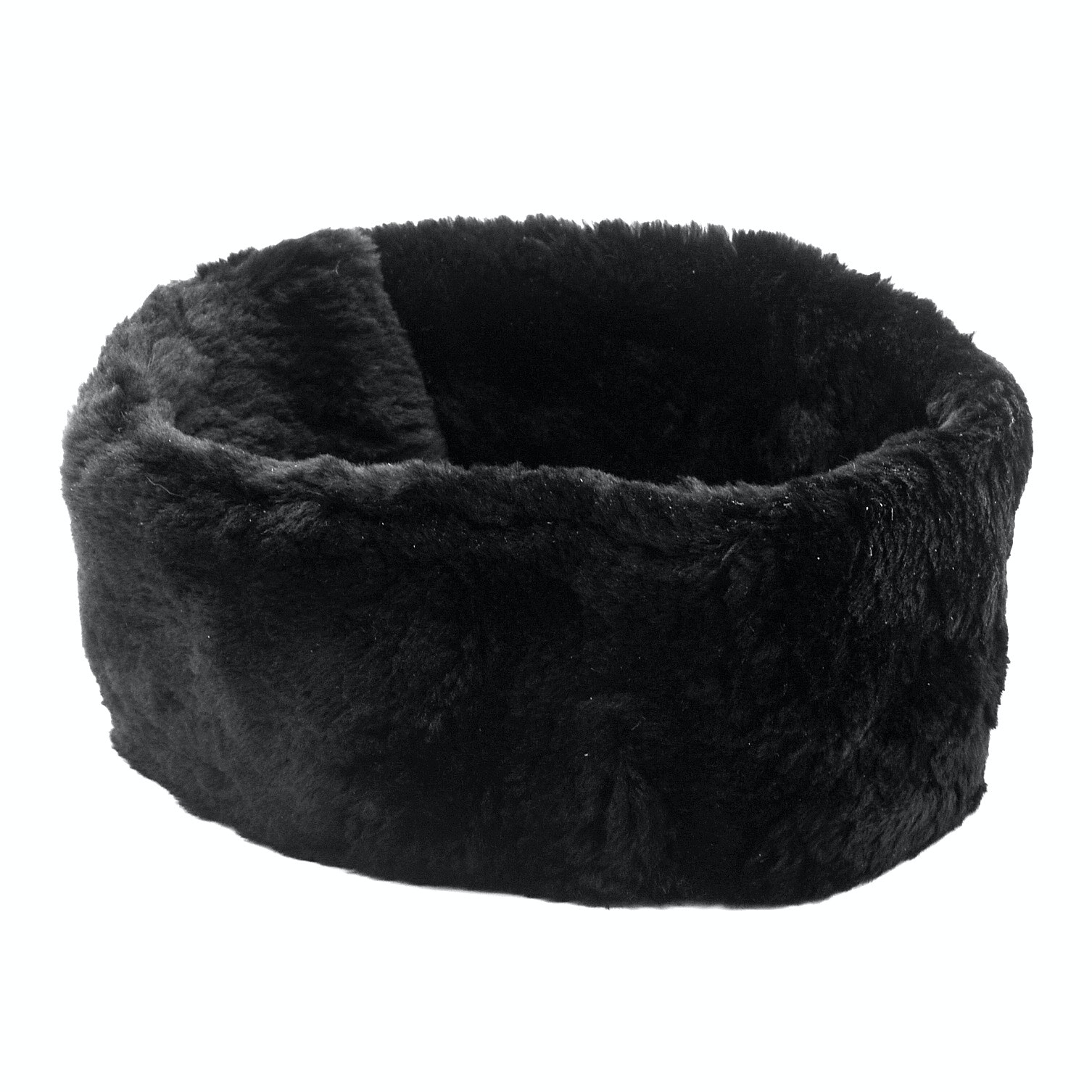 Augustina Dyed Black Beaver Fur Collar from Carmel By The Sea