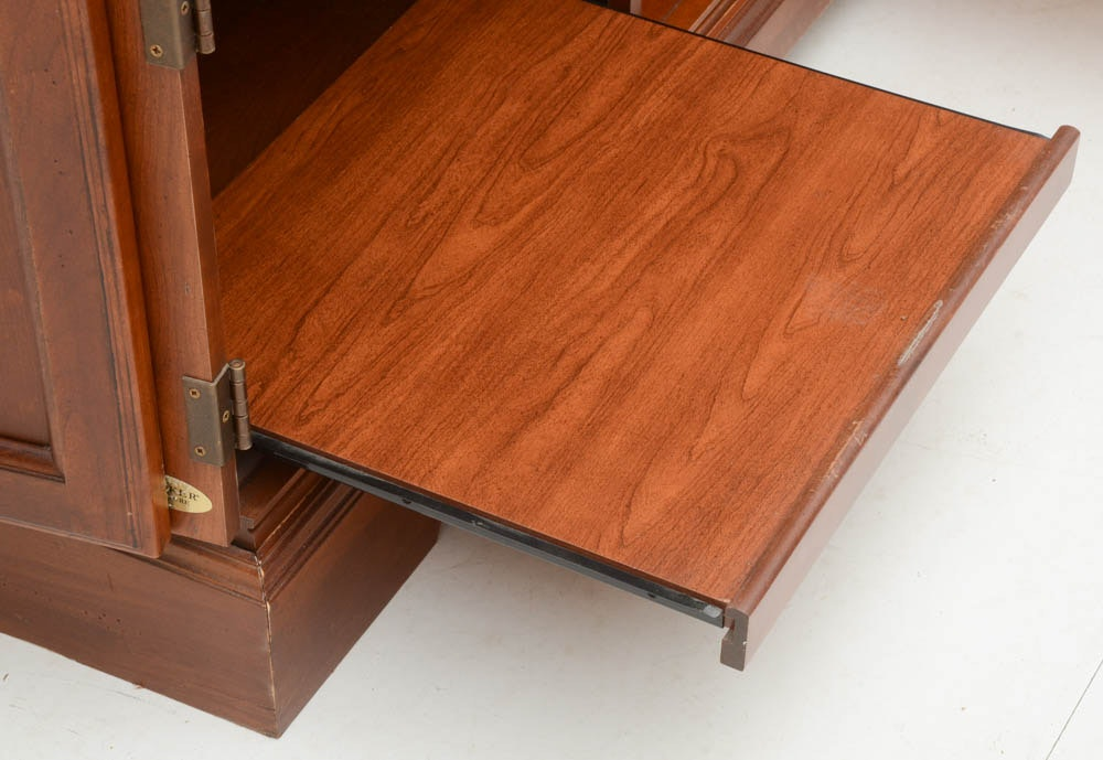 Cherry Computer Cabinet by Hooker Furniture : EBTH