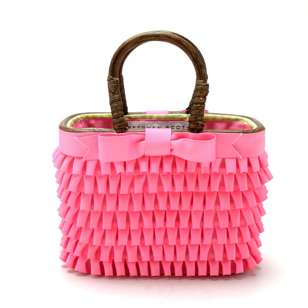 Ruffled Gretchen Scott Basket Purse