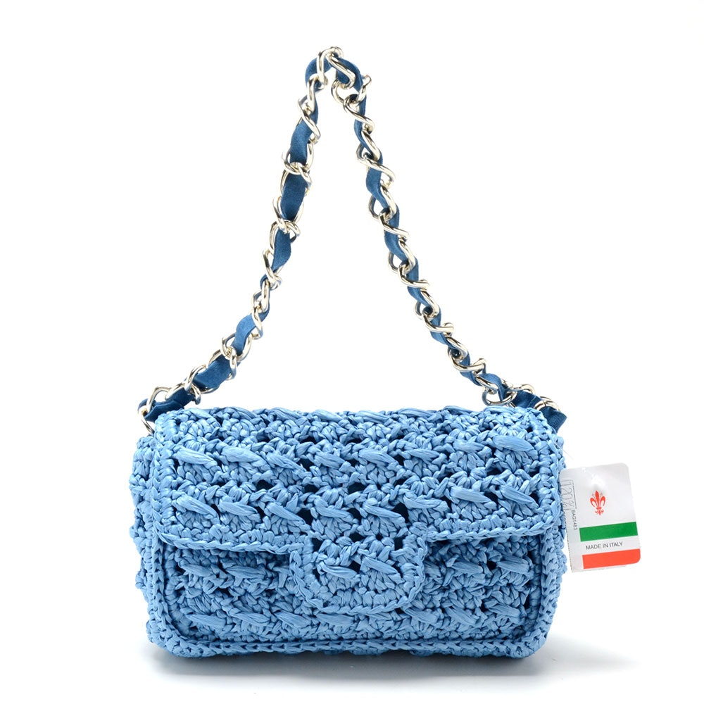 Light Blue Bertini Handbag
