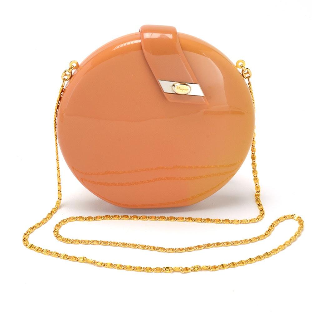 Salvatore Ferragamo Disk Handbag