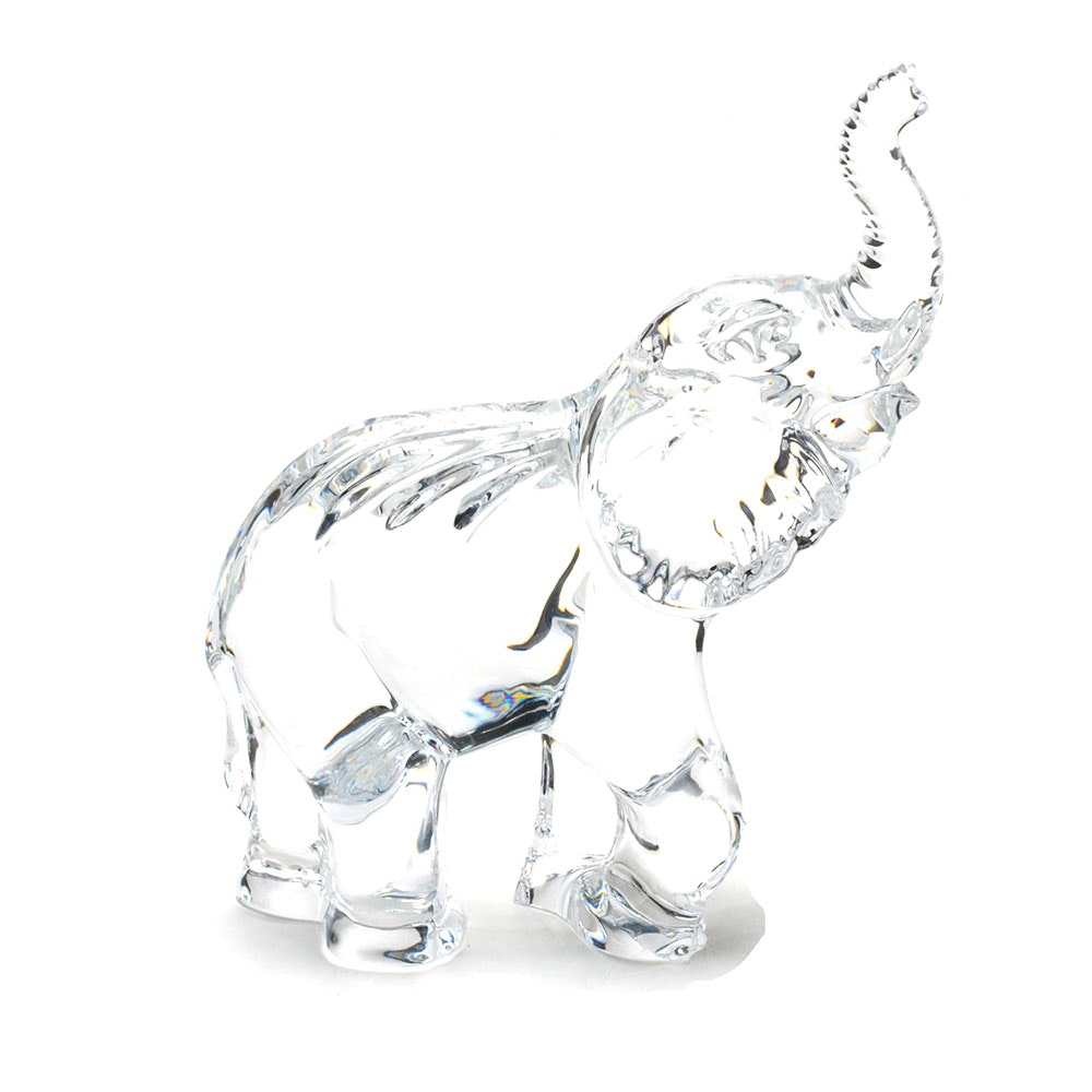 Waterford Crystal Elephant