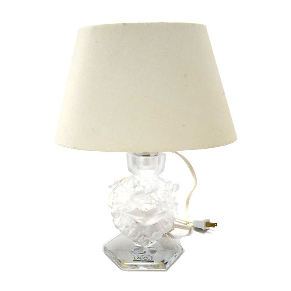Lalique Accent Lamp