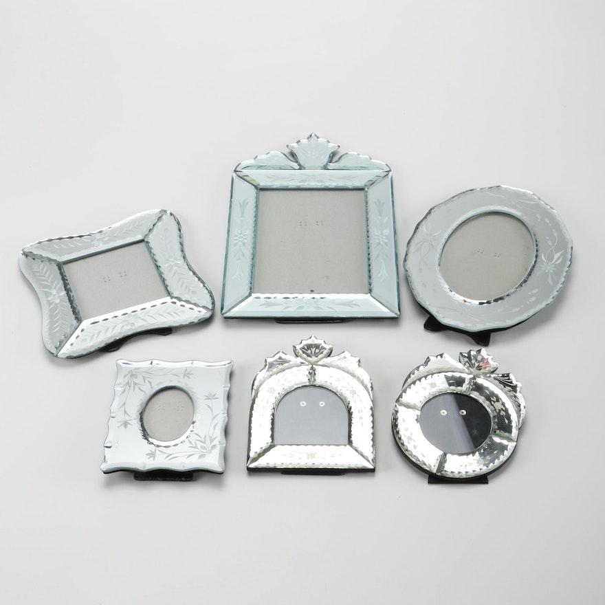 Venetian Style Glass Frames : EBTH