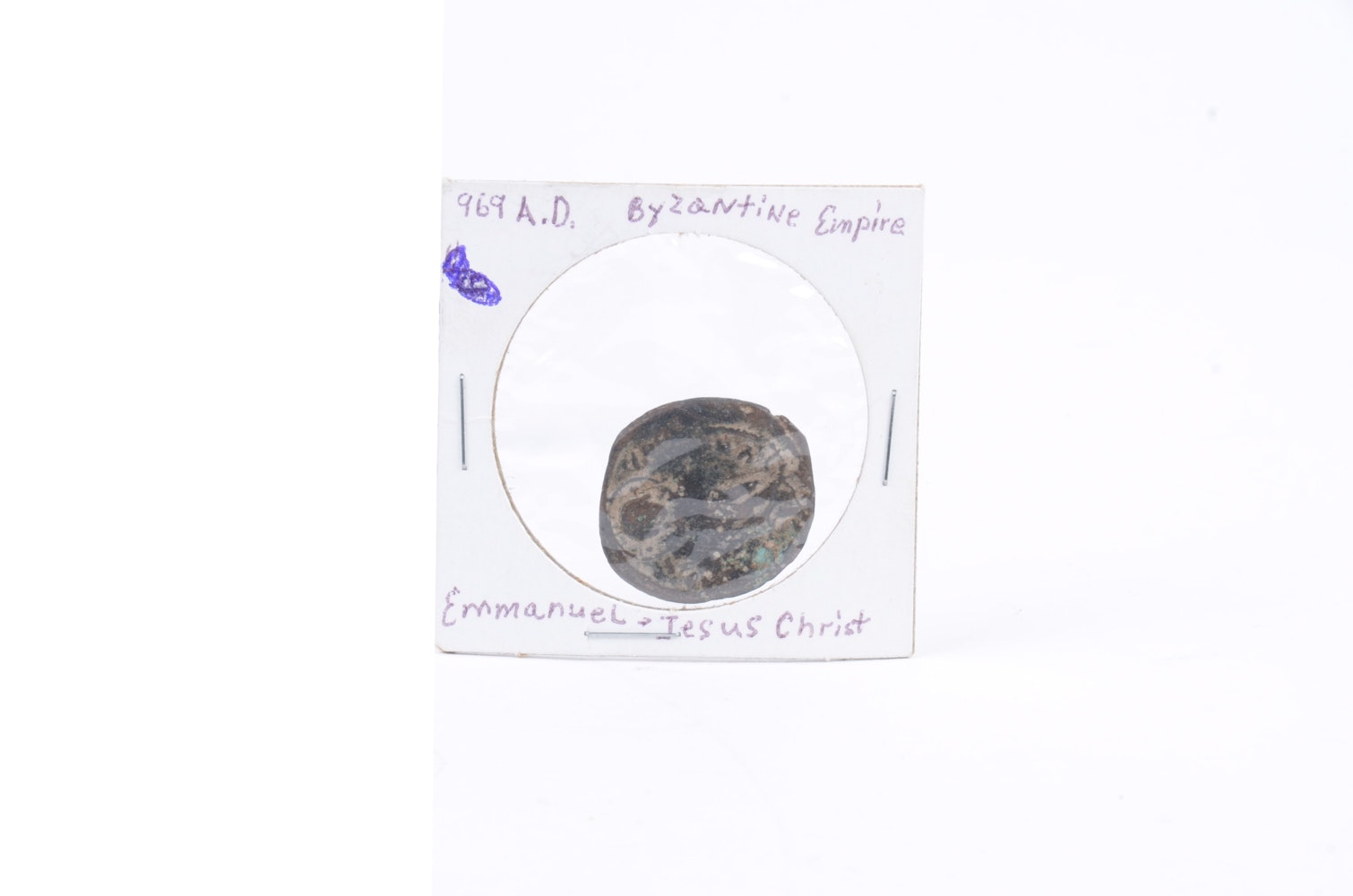 Byzantine Empire Constantine X Bronze Follis (1059-1067 AD)