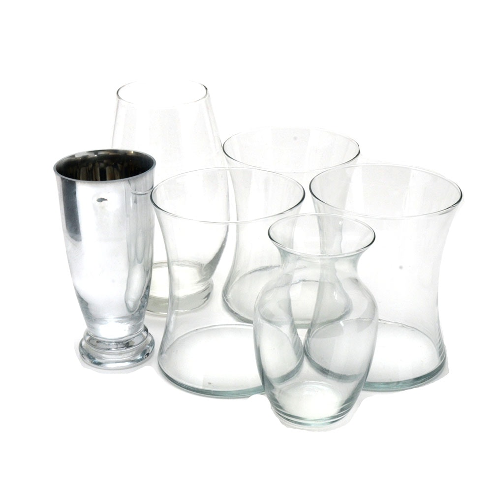 Collection of Glass Vases