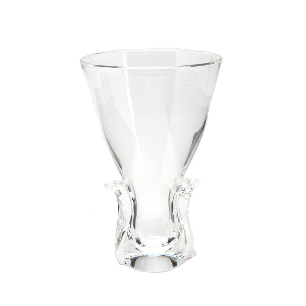 "Steuben Crystal ""Lyre"" Vase"