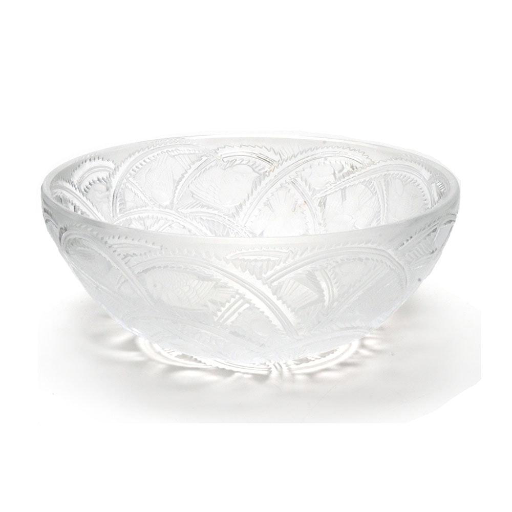 Vintage Lalique Pinson Bowl
