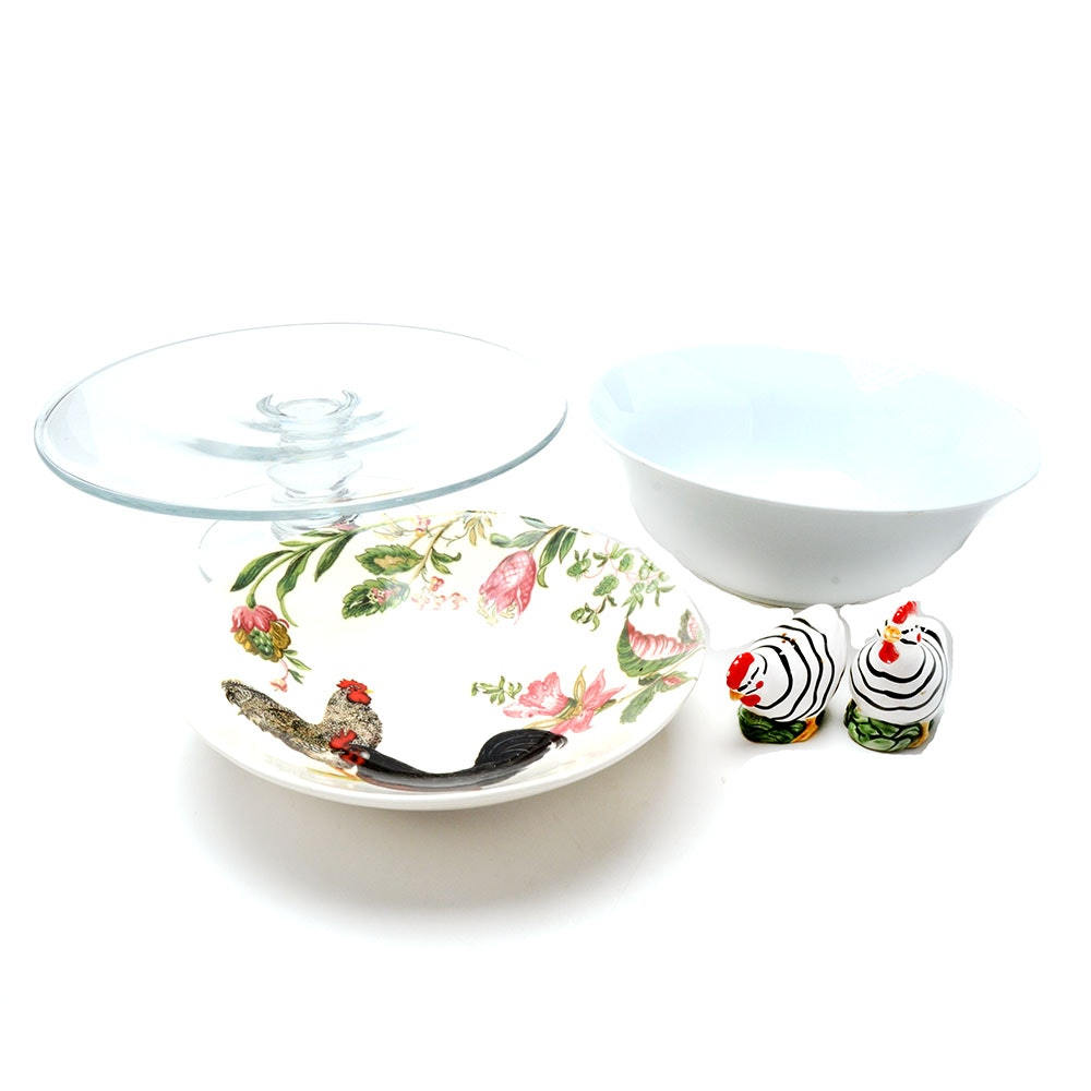 Group of Kitchen Related Items