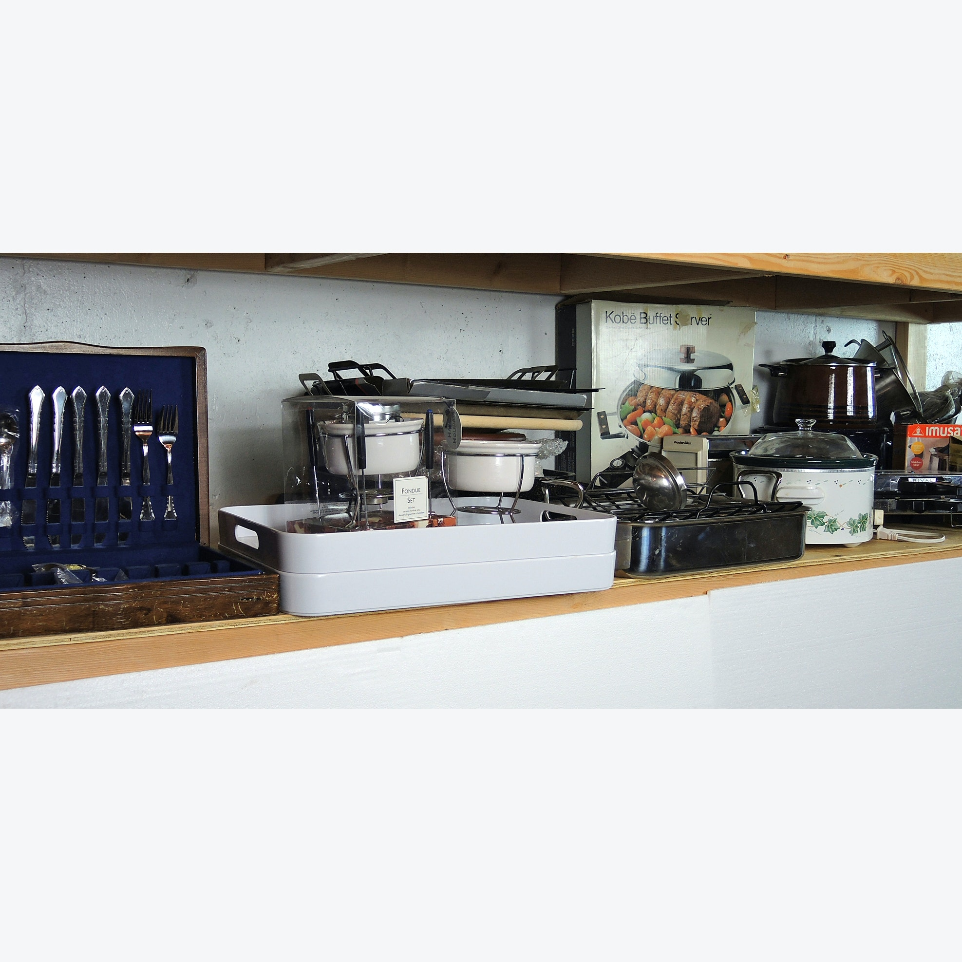 Pots and Pans, Flatware Cooking Collection