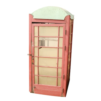 Repurposed English Style Phone Booth