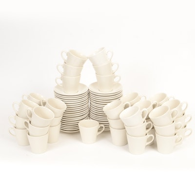 40 Sets of Homer Laughlin Cups and Saucers