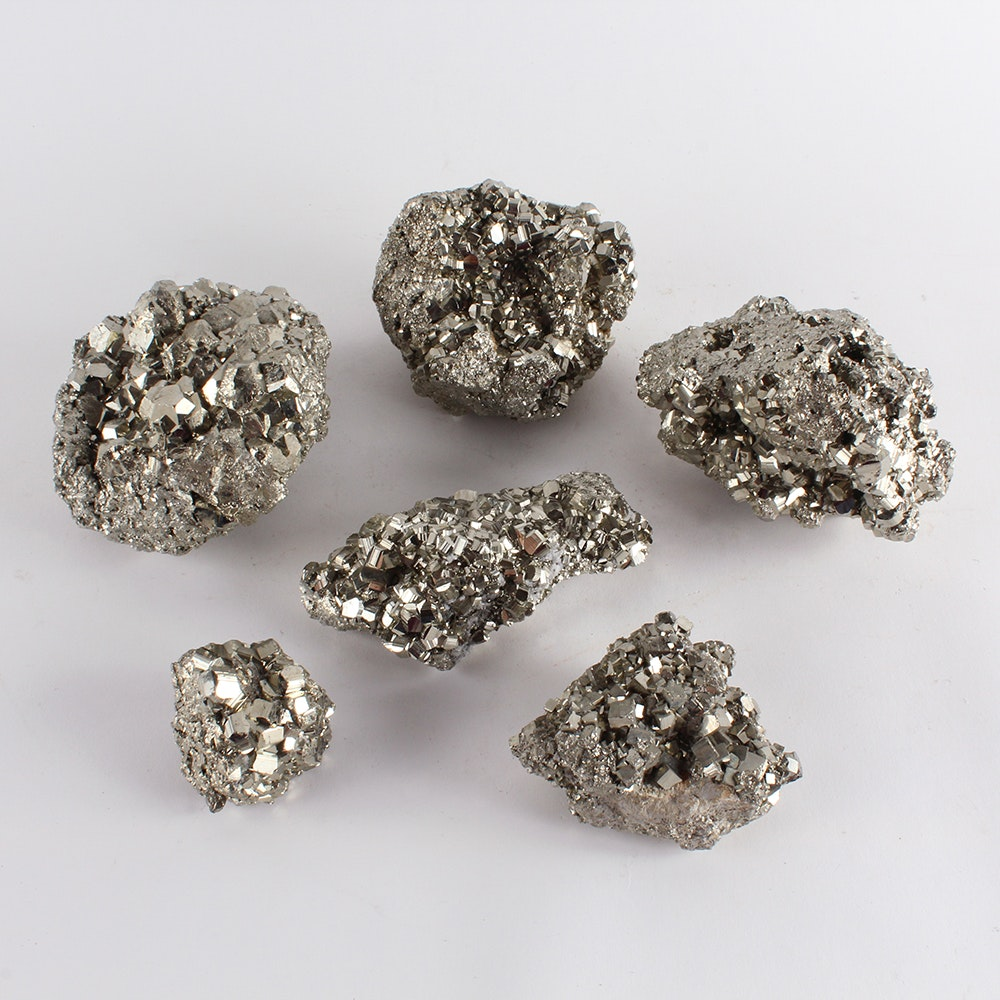 """""""Coco"""" Pyrite Mineral Clusters"""