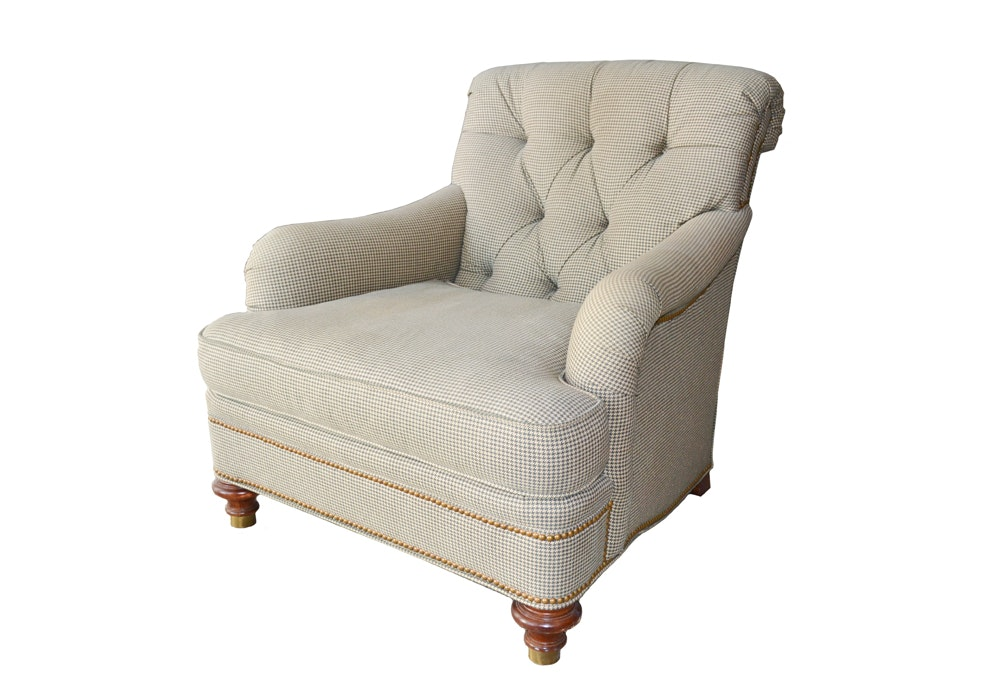 St. James Tufted Lounge Chair ...