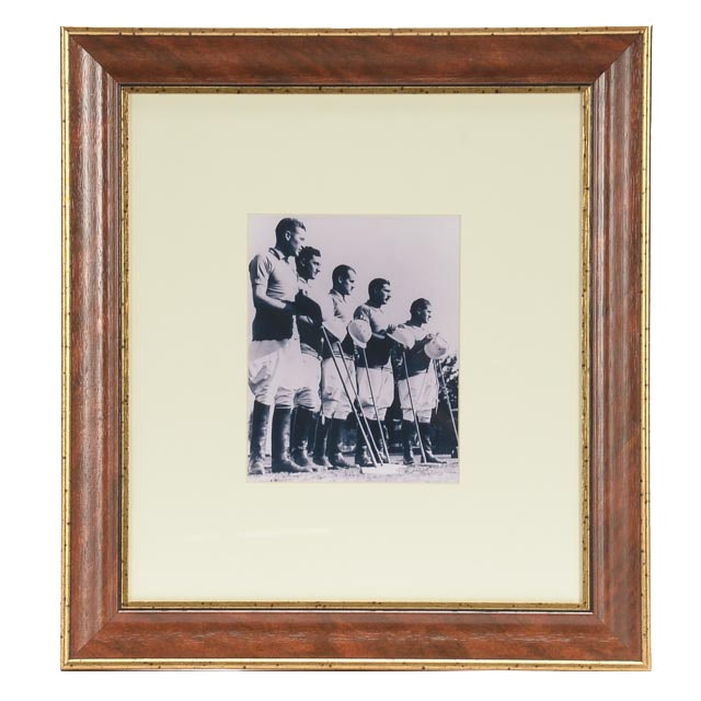 "Lillian August Decorative Giclee ""Men in Polo"""