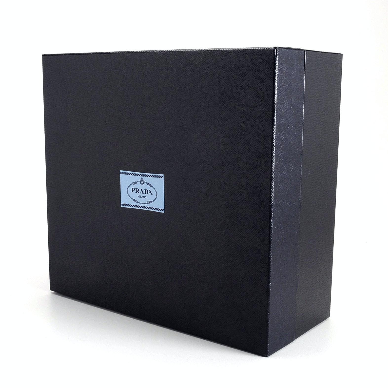 Large Navy Prada Box