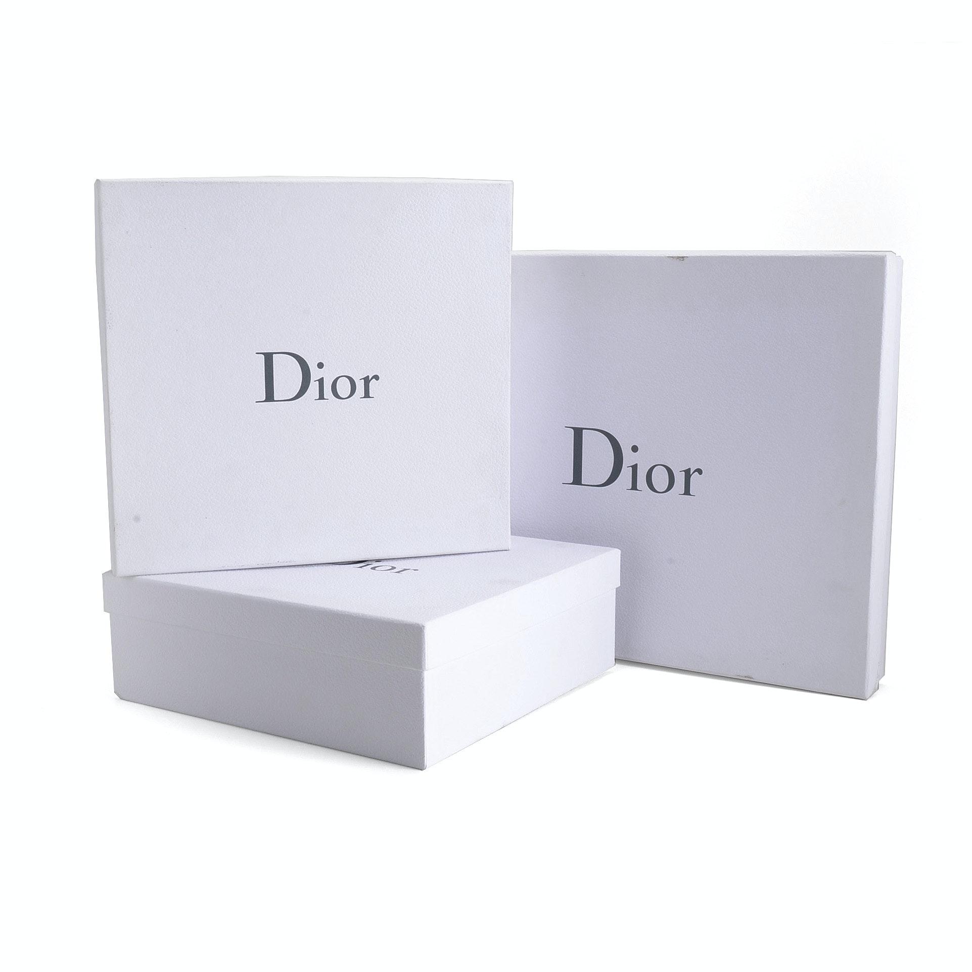 White Dior Gift Boxes