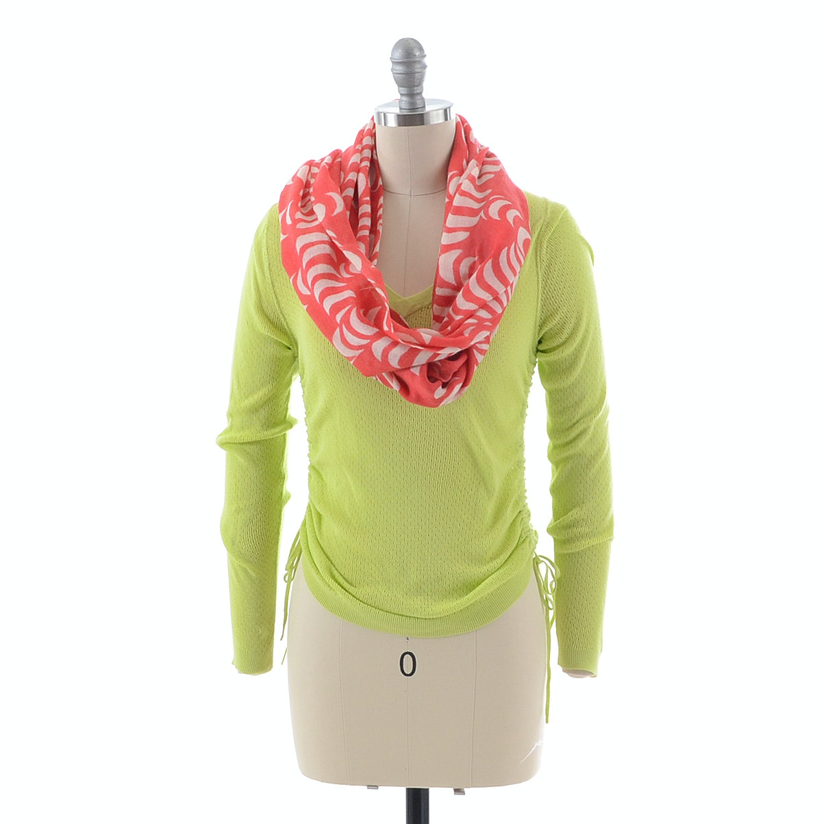 Banana Republic Sweater and Scarf