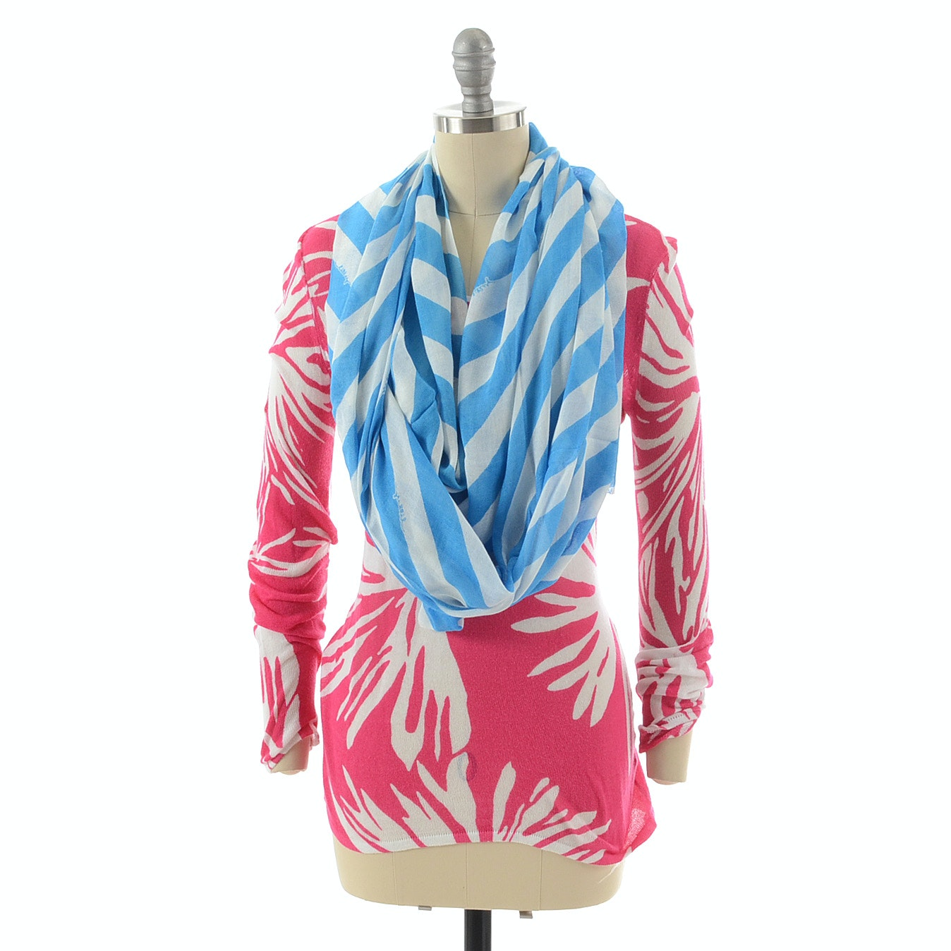 Lilly Pulitzer Scarf and Sweater