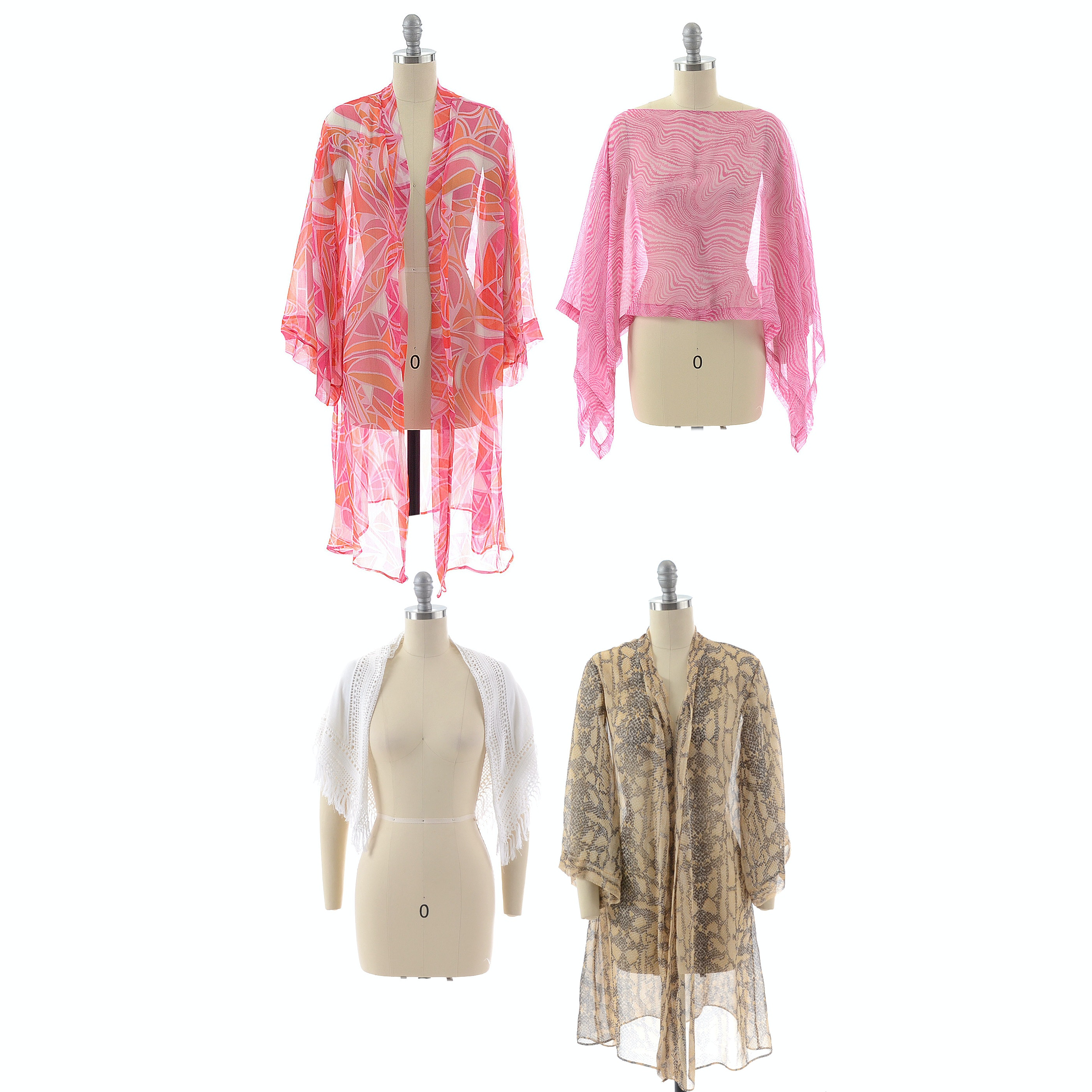 Jennifer Miller Sheer Kimonos and Ponchos