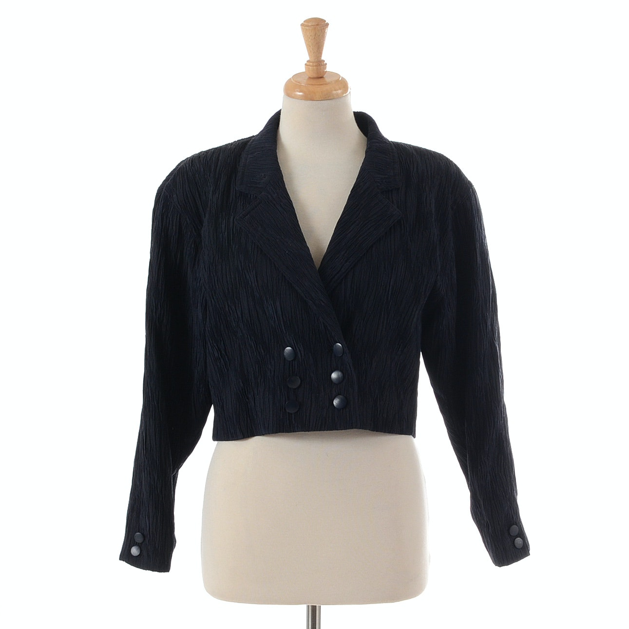 Escada by Margaretha Ley Crepe Jacket
