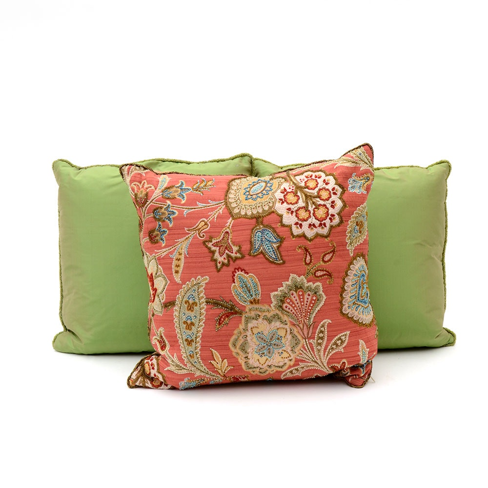 Dransfield and Ross Throw Cushions