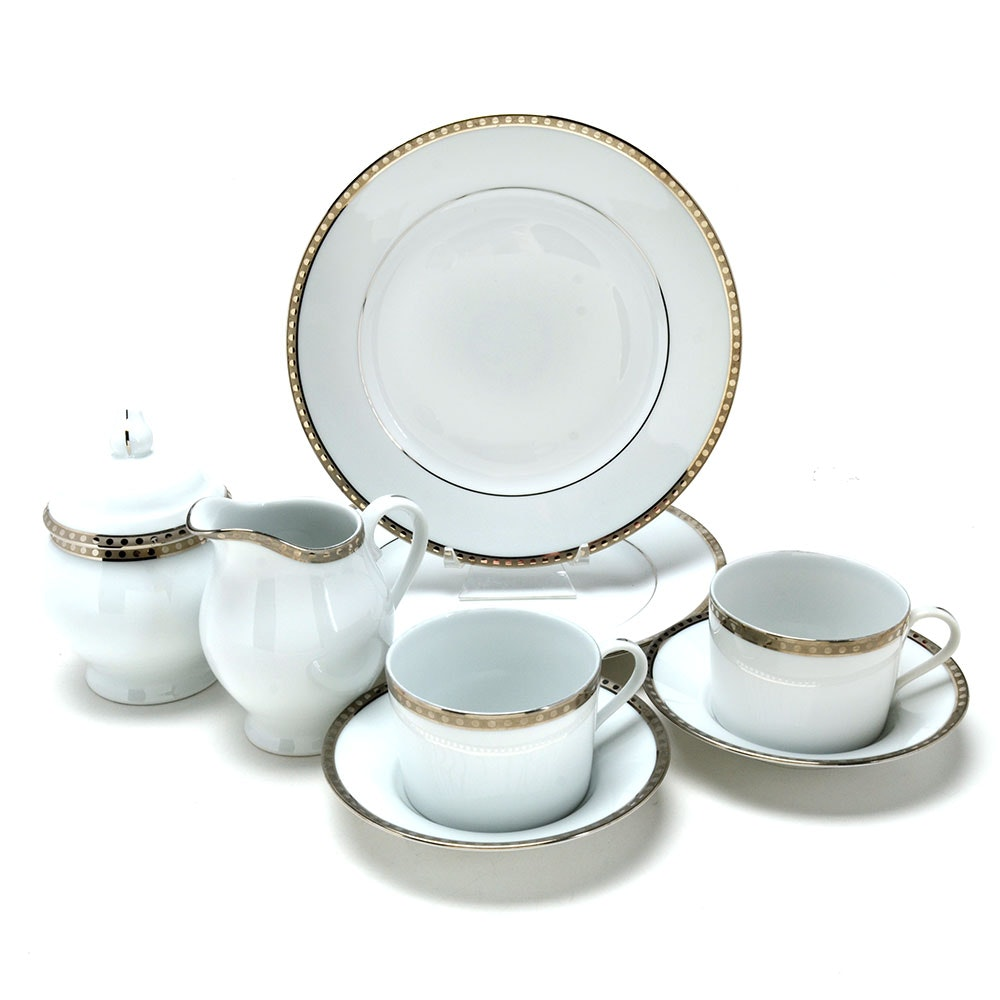 Tiffany & Co. Porcelain Dessert Set