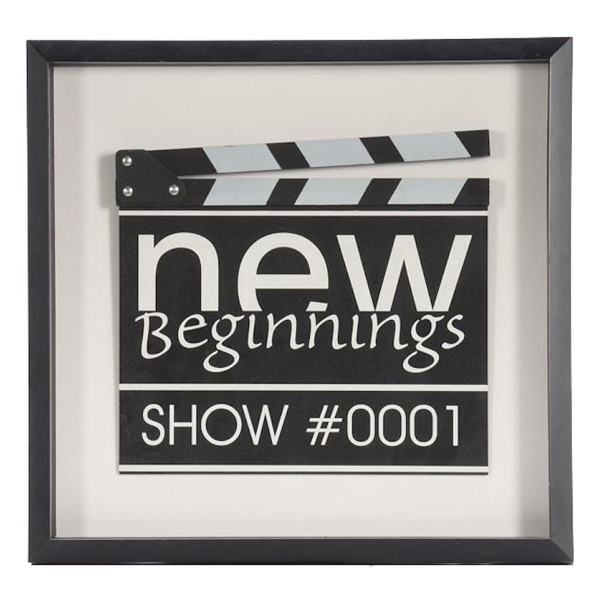 """Framed Scene Marker from Erica Kane's """"New Beginnings"""""""