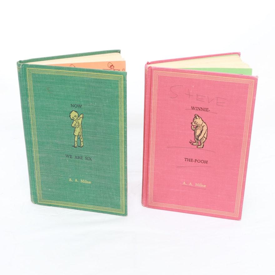 Aa Milne Books