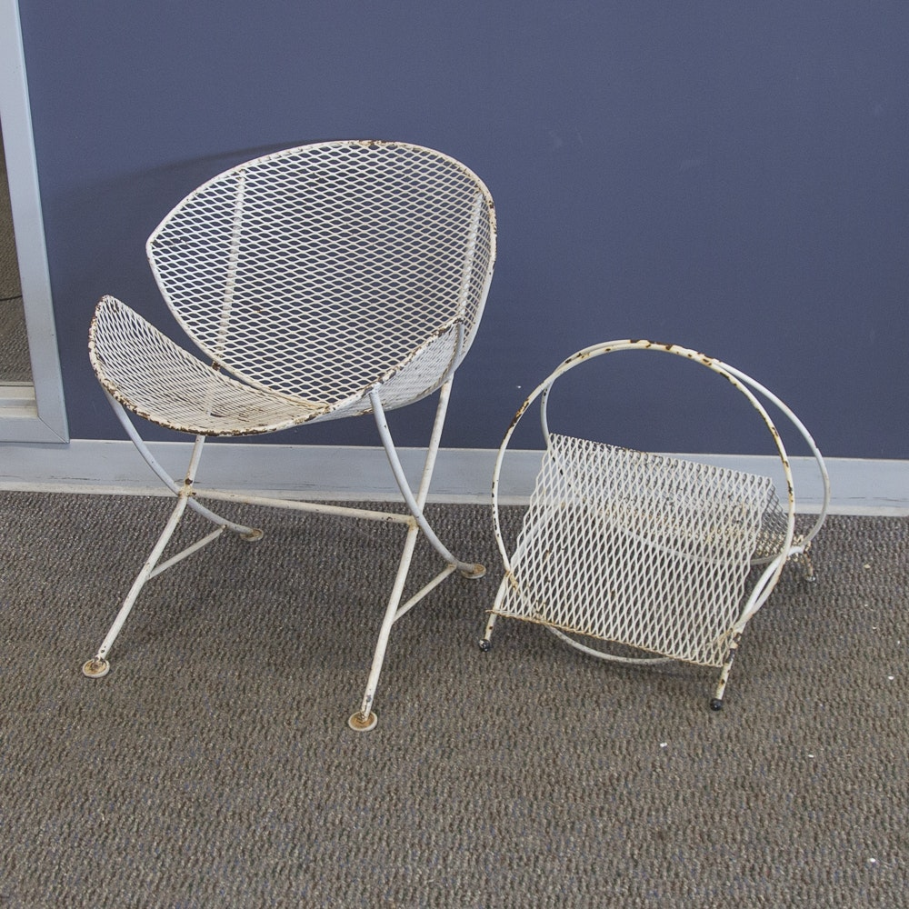 Mid Century Modern Patio Furniture mid-century modern salterini patio furniture : ebth