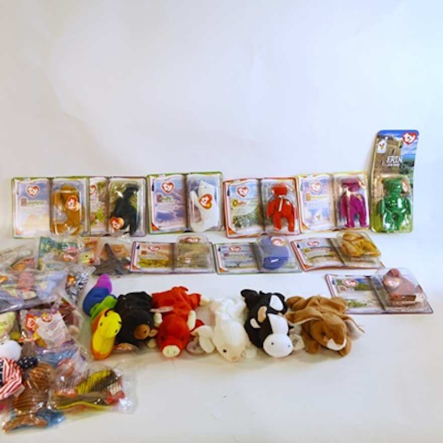 Collectible Ty Beanie Baby and Ty McDonald Plush Toys   EBTH 3c8235446bf2